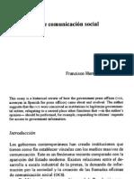 Oficinas de comunicación social en México