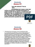 Consulta Popular Ecuador 2011 - Referendo - Solo Anexos