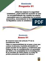 Consulta Popular Ecuador 2011 - Referendo - Solo Preguntas