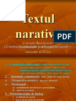 Concepte Operationale.textul Narativ