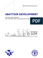 Abattoir Development