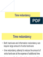 Time Redundancy