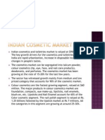 Indian Cosmetic Market- Blush
