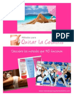 Métodos para Quitar la Celulitis