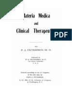 Peterson's Materia Medica