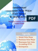 Presentasi Transformasi Penerapan Nilai Wajar (Fair Value)-1