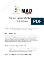 Youth Grant Guidelines 2011