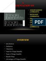 Fringe Benefits (Final Ppt)