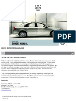 Volvo s80 Owners Manual 2007