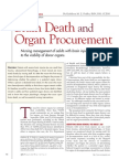 Brain Death & Organ Procurement