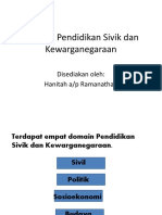 Domain Pendidikan Sivik Dan Kewarganegaraan 1