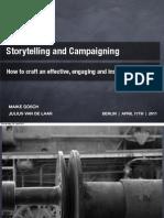 Storytelling & Kampagnen, Maike Gosch/Julius van de Laar