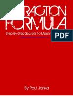Attraction Formula