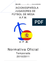 NORMATIVA AFM 2010-2011