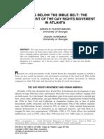 Development of Gay Rights Movement in Atlanta