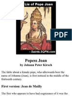 The Lie of Pope Joan