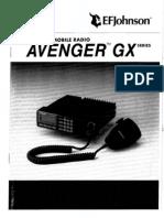 Avenger GX User Manual