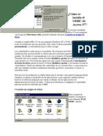 Cómo se instala el ODBC de Access 97