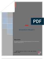 48947731 a Project Report on Micro Finance in India