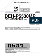 Pioneer Deh-p5530mp Service Manual