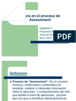 Pasos en El Proceso de Assessment