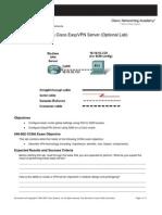 11. Creating a Cisco EasyVPN Server