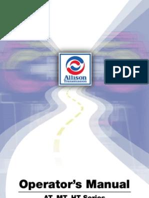Allison Transmission | Manual Transmission | Transmission (Mechanics)
