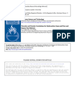 Viscosity and Densety Correlations