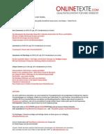www.onlinetexte.com - Newsletter 2011-15