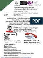 54254366 Seminar Internet Marketing
