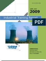 Industrial Training Report on NTPC DADRI