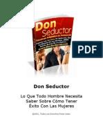 Don Seductor Manual