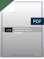 Introduction Aux Fondements de La Foi Islamique