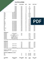 Fan Clutch Selection Guide - Revised Mar2009