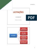 Licitacoes