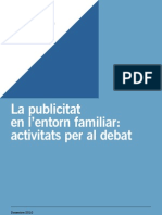 LA PUBLICITAT EN L'ENTORN FAMILIAR