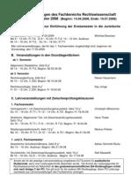 Lehrveranstaltungen Universität Konstanz