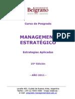 Programa Management Estratégico UB 2011