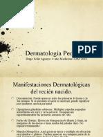 Dermatologia - Capitulo XXIX Honeyman - Dermatologia Pediatrica - Hugo Solis Aguayo.