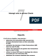 Interagir Avec Oracle