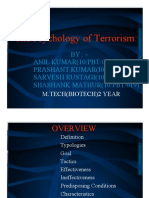 Terrorism and Cyber Crime