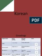 Korean 2