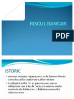 Riscul Bancar Power Point