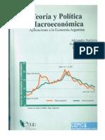 Teoría y Política Macroeconómica
