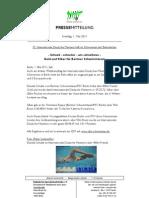 Rekordflut mit 5 weiteren Welt- und 3 Europarekorden bei 25. IDM Schwimmen Berlin
