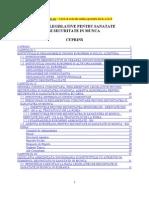 Baze Legislative Pentru Sanatate Si Securitate in Munca [PDF]
