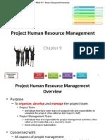 9.1-Develop Human Resource Plan