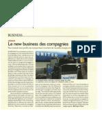 Revenus ancillaires dans l'aérien - Afrique Magazine - Avril 2011