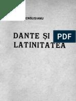 Dante şi latinitatea