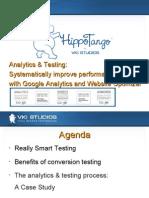 Analytics & Testing